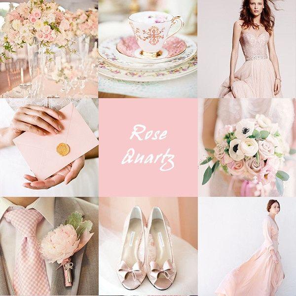 Tema Matrimonio Rosa Quarzo : Matrimonio rose quartz colore pantone 2016 moda nozze forum
