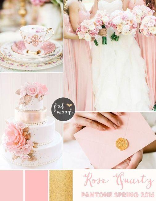 Matrimonio Tema Rose : Matrimonio rose quartz colore pantone moda nozze