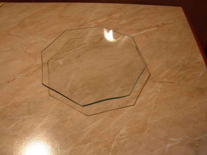 piattino di vetro