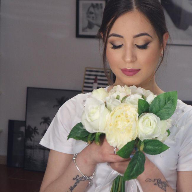 Cosa ne pensate del mio trucco il giorno del matrimonio??? 2
