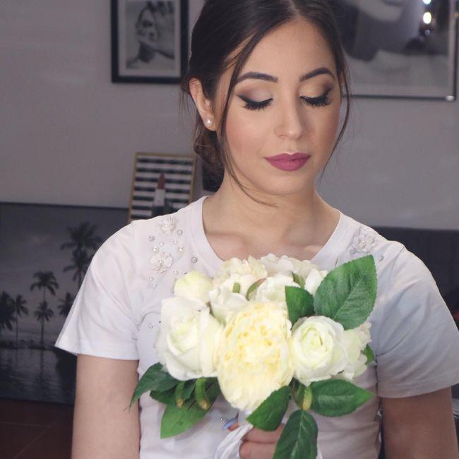 Cosa ne pensate del mio trucco il giorno del matrimonio??? 3