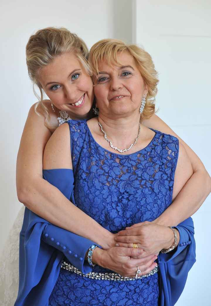 Eccomi con la mia mamma
