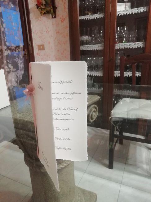 Libretti messa e menù - 4