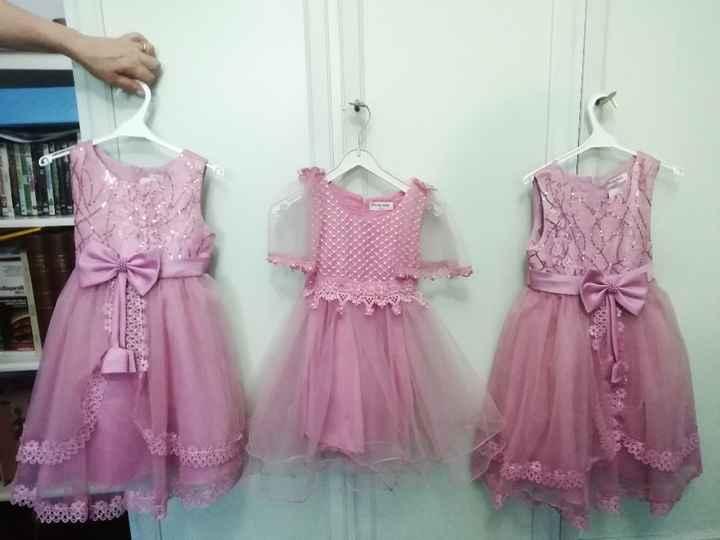 Vestiti damigelle rosa 😍 - 1