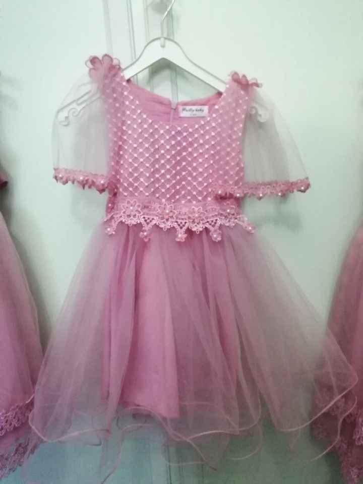 Vestiti damigelle rosa 😍 - 3