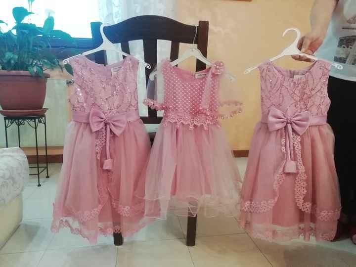 Vestiti damigelle rosa 😍 - 4