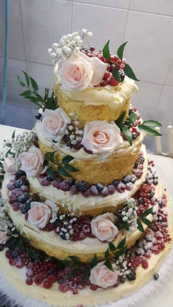Cake topper lego su naked cake - 1