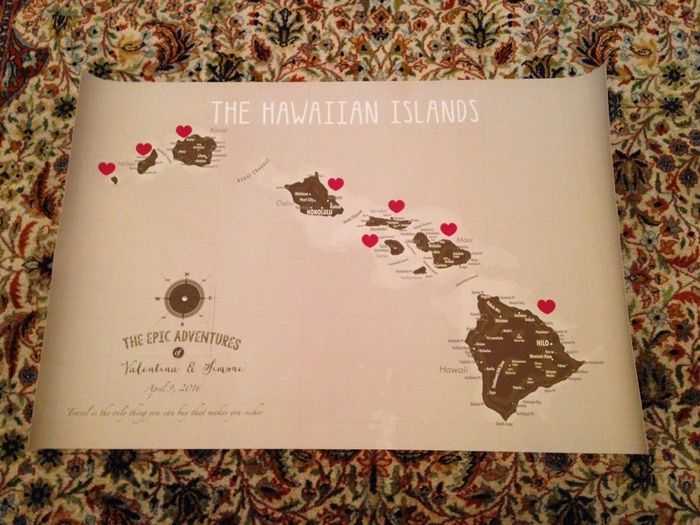 Matrimonio Tema Hawaii : Il nostro tableau de mariage tema hawaii organizzazione