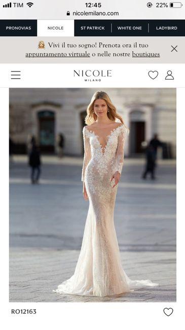 Abiti Nicole: quale vi ispira di più? 🥰 2