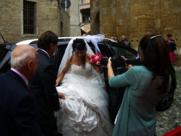 Matrimonio In Arrivo : Arrivo in chiesa foto matrimonio