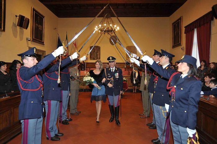Matrimonio In Alta Uniforme Esercito : Matrimonio in divisa storica polizia organizzazione