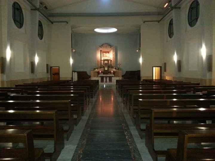 Vi presento la chiesa e la location in cui si terranno le nostre nozze-foto - 3