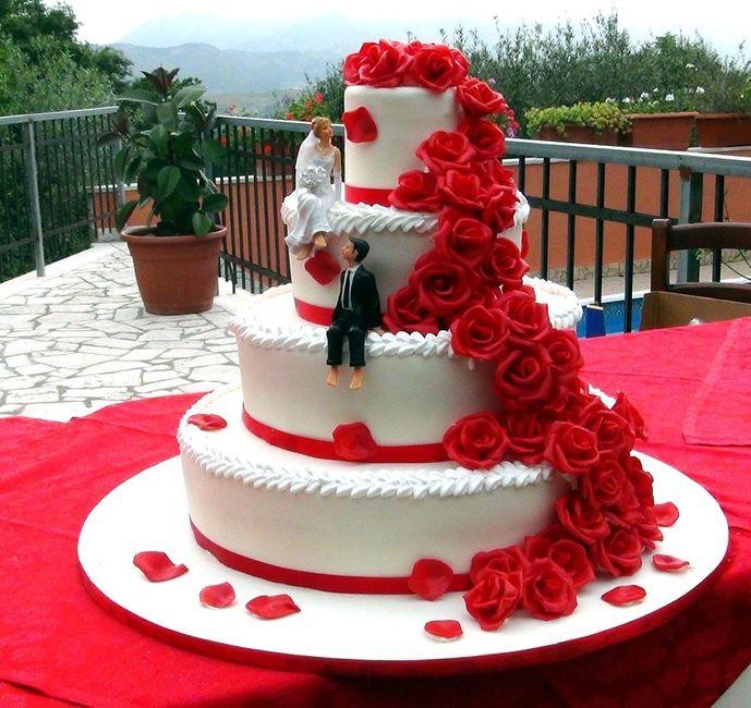 spesso Torta nuziale - Fai da te - Forum Matrimonio.com DZ02