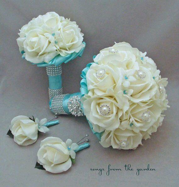 Amato Matrimonio con il colore tiffany - Organizzazione matrimonio  KR16