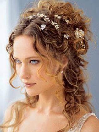 Acconciature sposa 2012 capelli sciolti