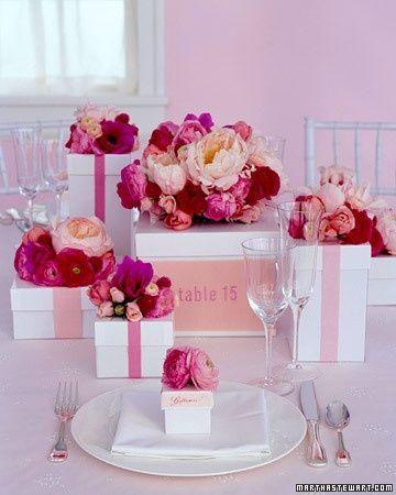 ricevimento in rosa