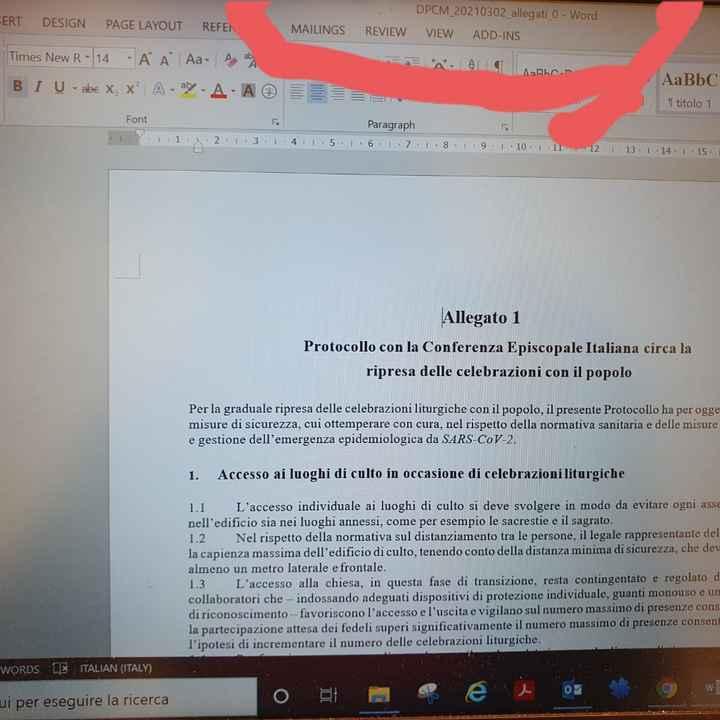 Allegato dpcm firmato dal nuovo governo - 1