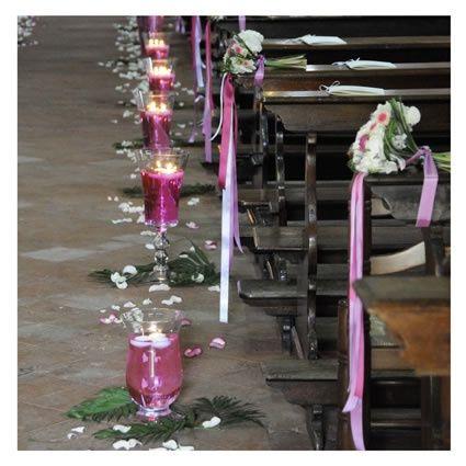 Idee addobbi foto cerimonia nuziale for Addobbi tavoli matrimonio con candele