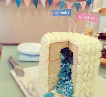 torta gender party