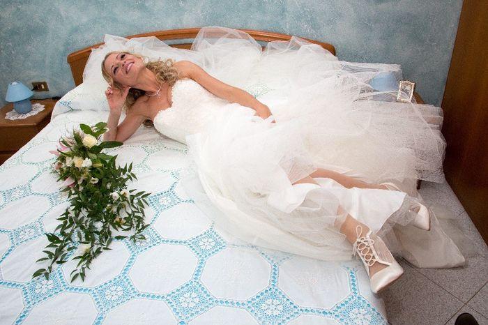 Foto della Camera da letto il giorno delle nozze 10