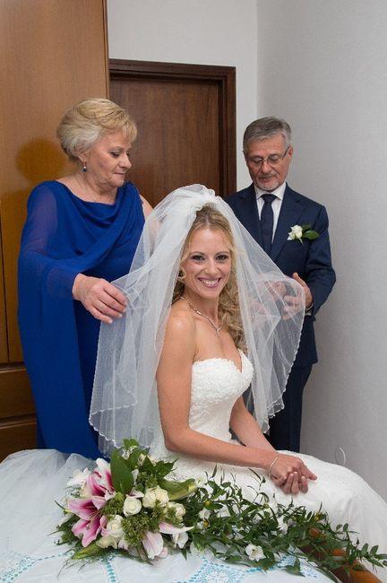 Foto della Camera da letto il giorno delle nozze 11