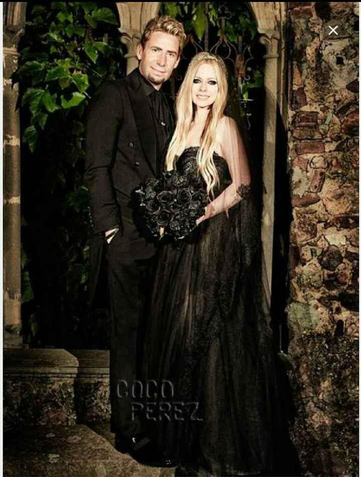 Vestiti da sposa di colore nero - 1