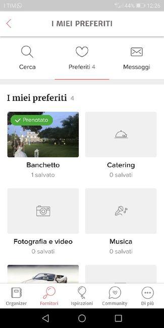 Condividi lo screenshot dei tuoi fornitori 16