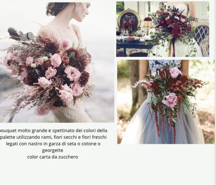 💐 Scelta del bouquet 💐 1