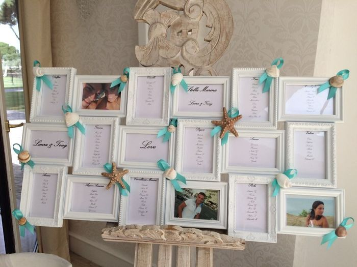 Matrimonio Tema Mare Nomi Tavoli : Tableau mare e nomi tavoli fai da te forum matrimonio