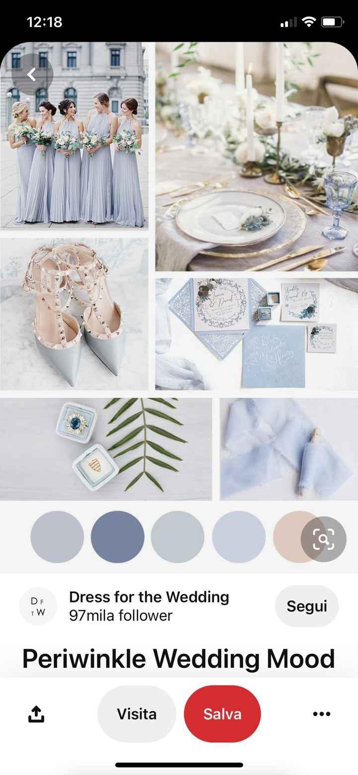 Palette color matrimonio - 1