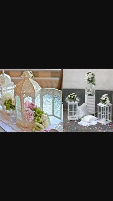 Tema Matrimonio Candele E Lanterne : Candele e lanterne al ricevimento página