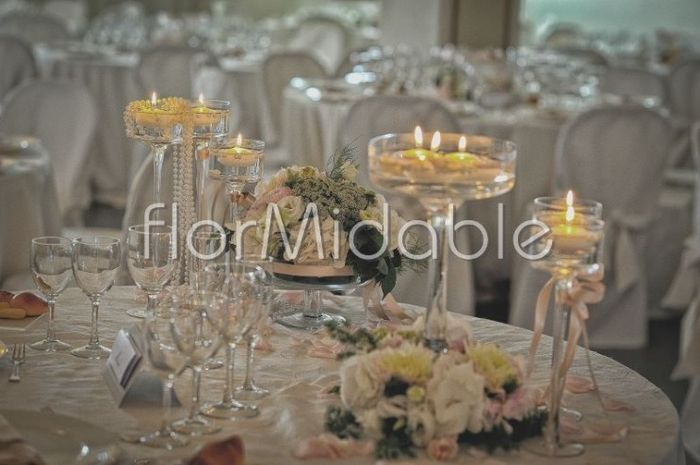 Idee centrotavola ricevimento di nozze forum for Addobbi tavoli matrimonio con candele