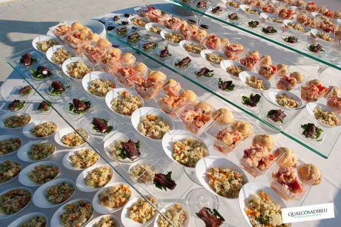 Buffet a isole - Ricevimento di nozze - Forum Matrimonio.com