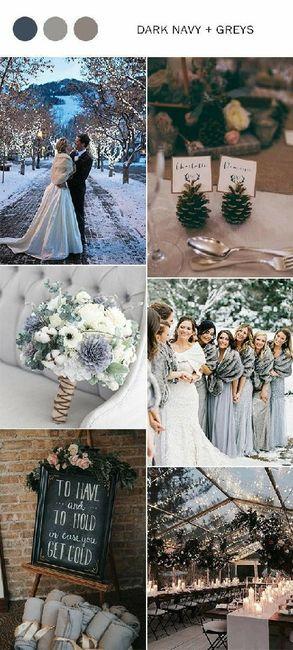 Matrimonio a dicembre. Che tema avete scelto? 16
