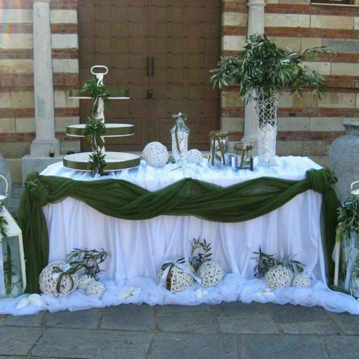 Tavolo confettata a casa della Sposa! - 1