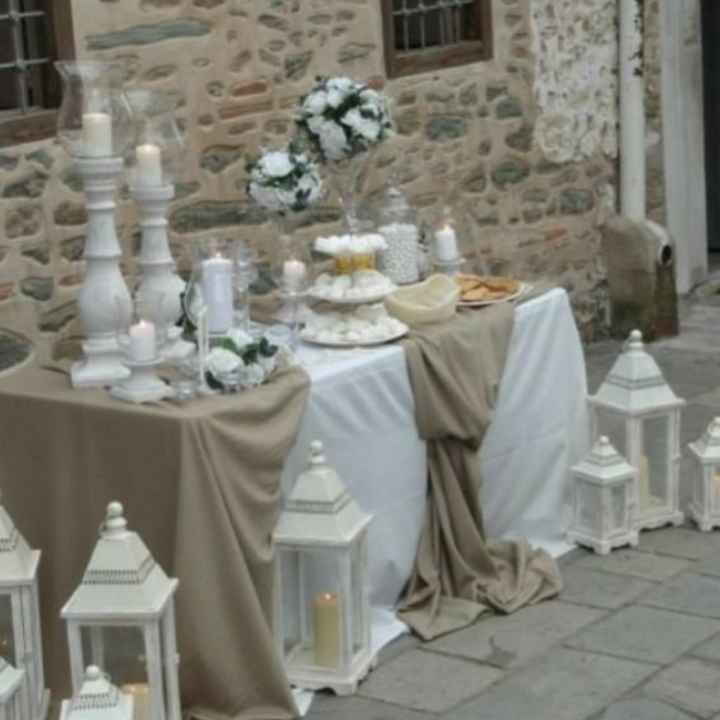 Tavolo confettata a casa della Sposa! - 3