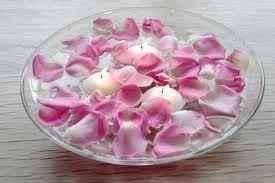 Centrotavola fiori e candele