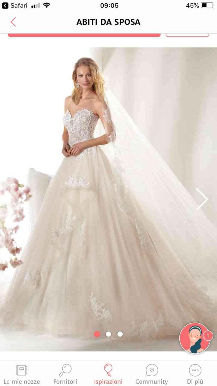 Occasione meraviglioso abito da sposa - 1