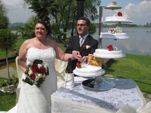 al taglio della torta