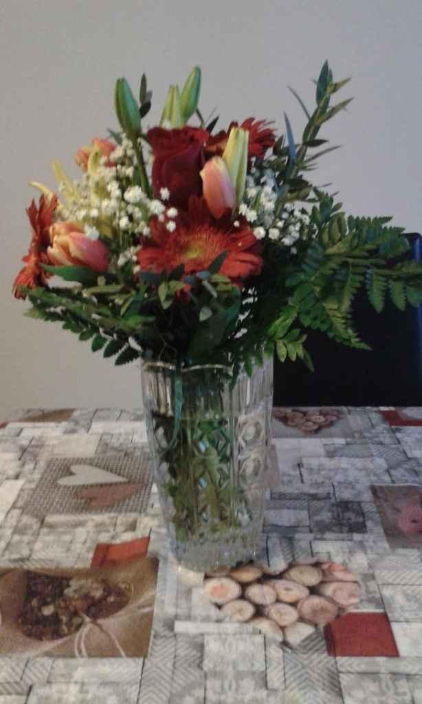 bouquet regalato da mia suocera