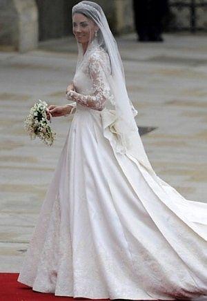 Vestiti Da Sposa Kate Middleton.In Mostra L Abito Da Sposa Di Kate Middleton Moda Nozze Forum