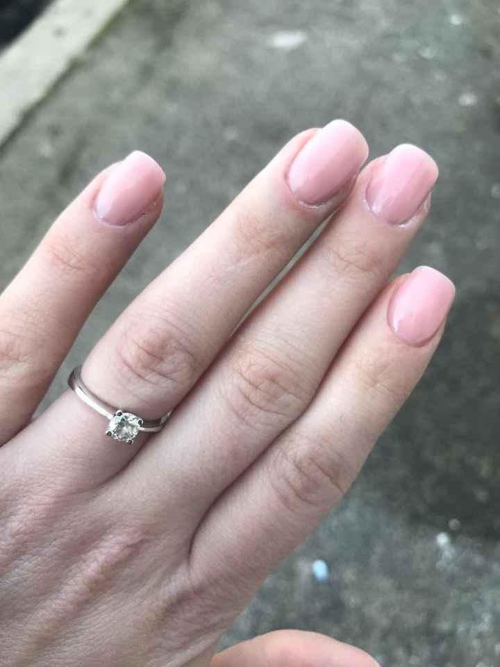 Sposine dolcissime oggi faccio la prima prova unghie, mi fate vedere le vostre? 5