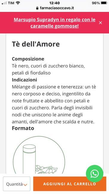 The/tisane come bomboniera 2