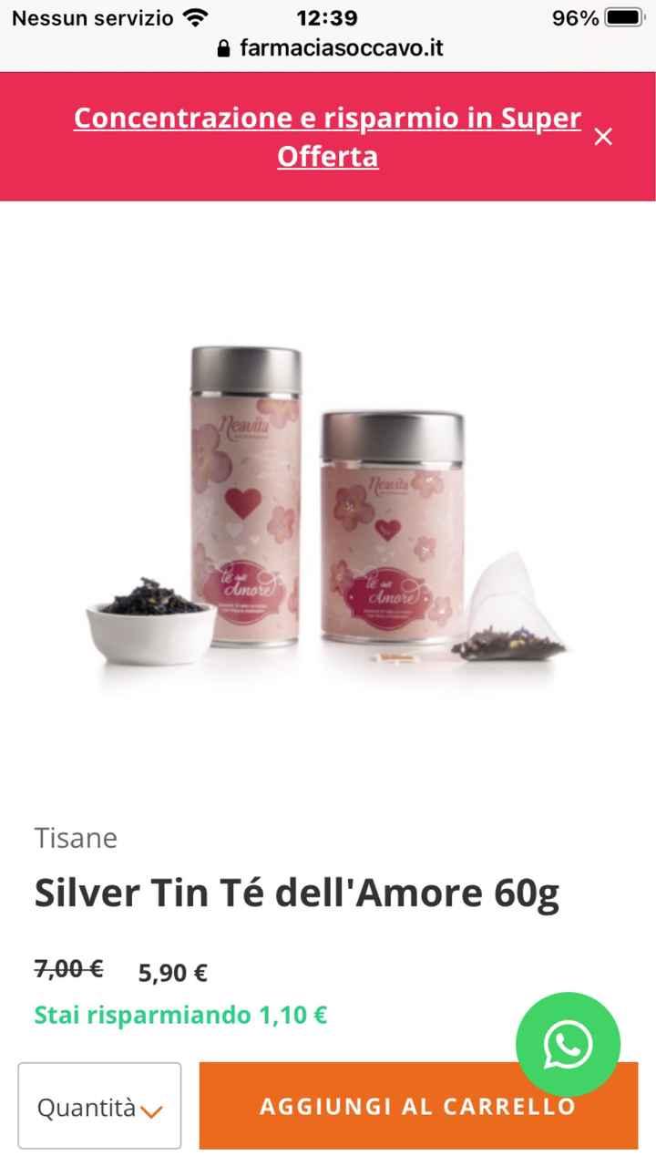 The/tisane come bomboniera - 1