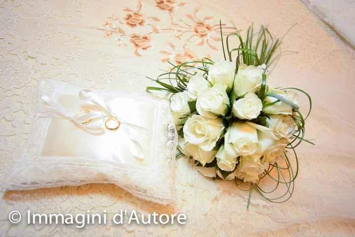 bouquet e anelli