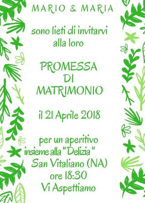 3dfdf1b29792 💚 Promessa di Matrimonio 💚 - Organizzazione matrimonio - Forum ...