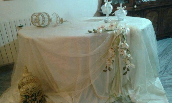 Tavolo regali 1 foto fai da te for Regali per un 25esimo di matrimonio
