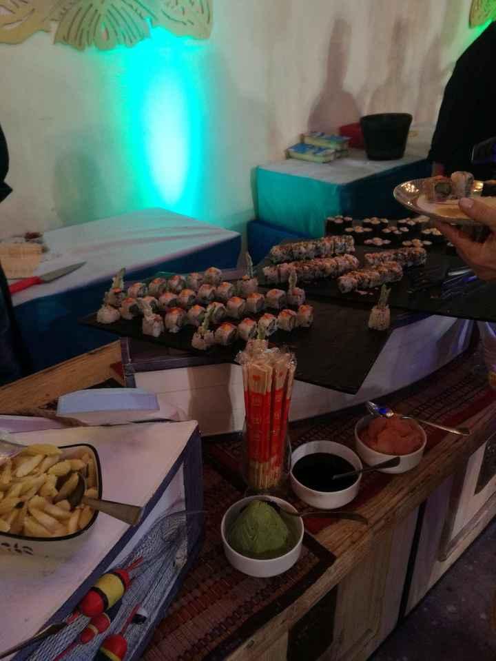 Sushi vegano!