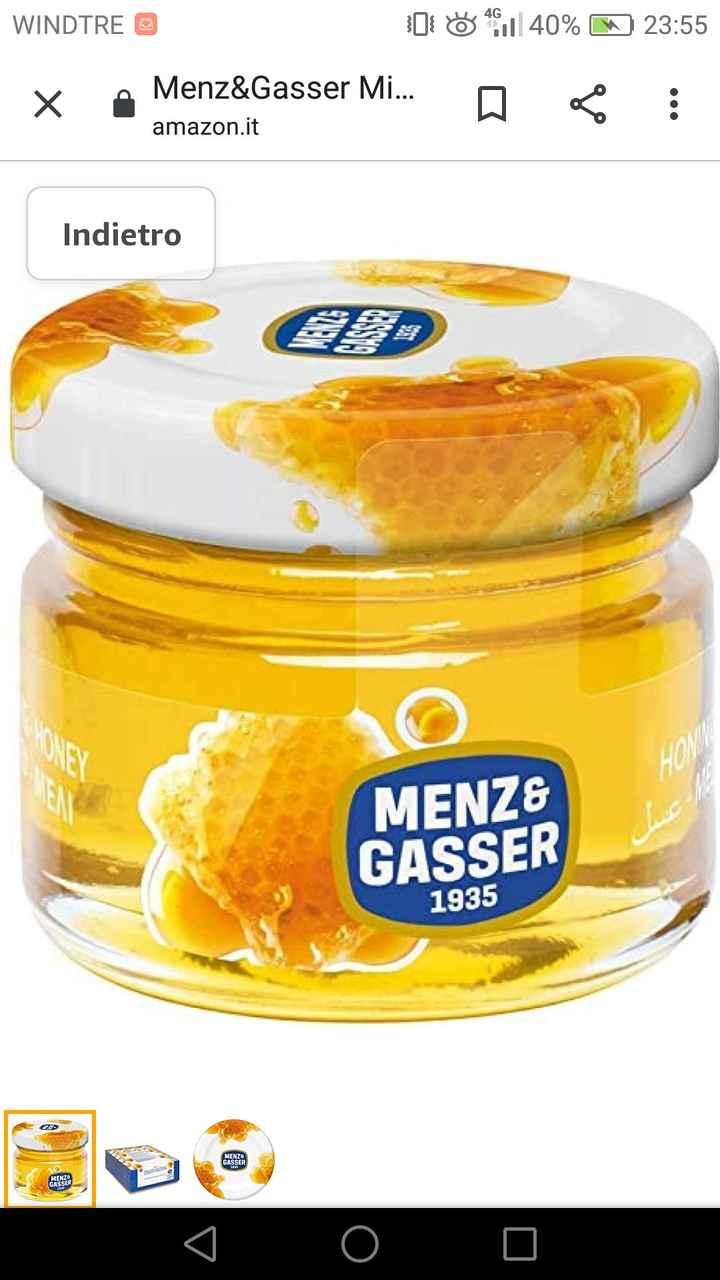 Segnaposto vasetti di miele - 1