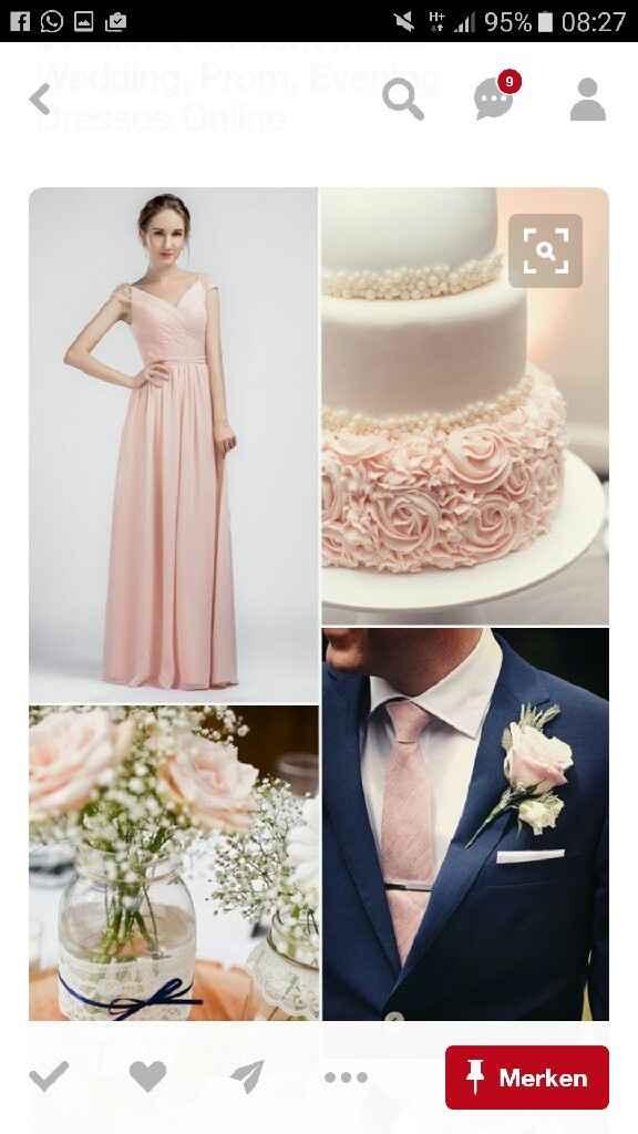 Colori: blush/pink & navy - 1